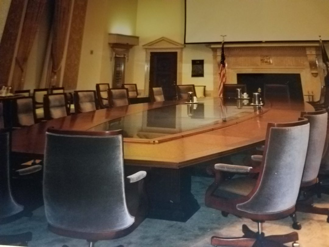 Board Room Audio Visual System Installation