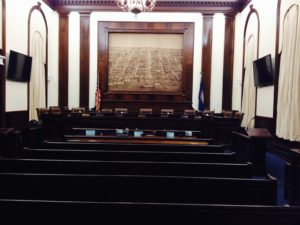 Court Room and Council Chambers room AV System