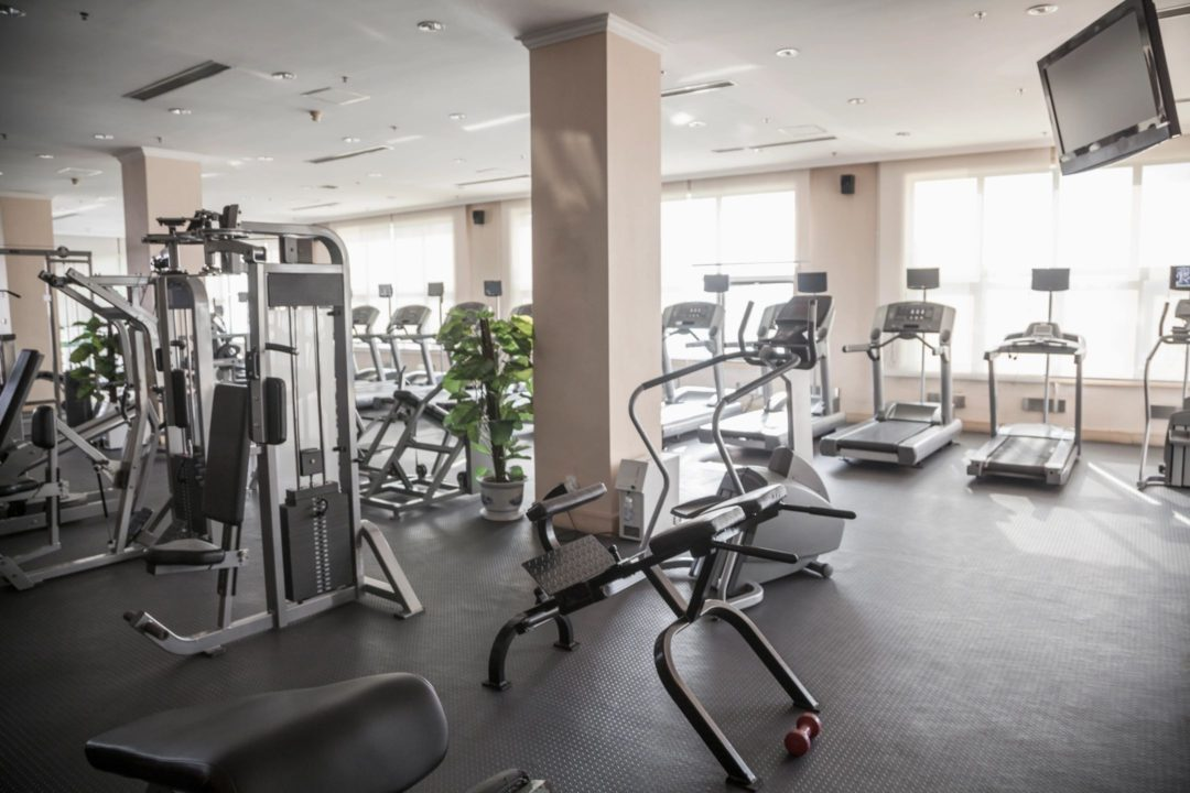 Fitness Room Sound and TV Install