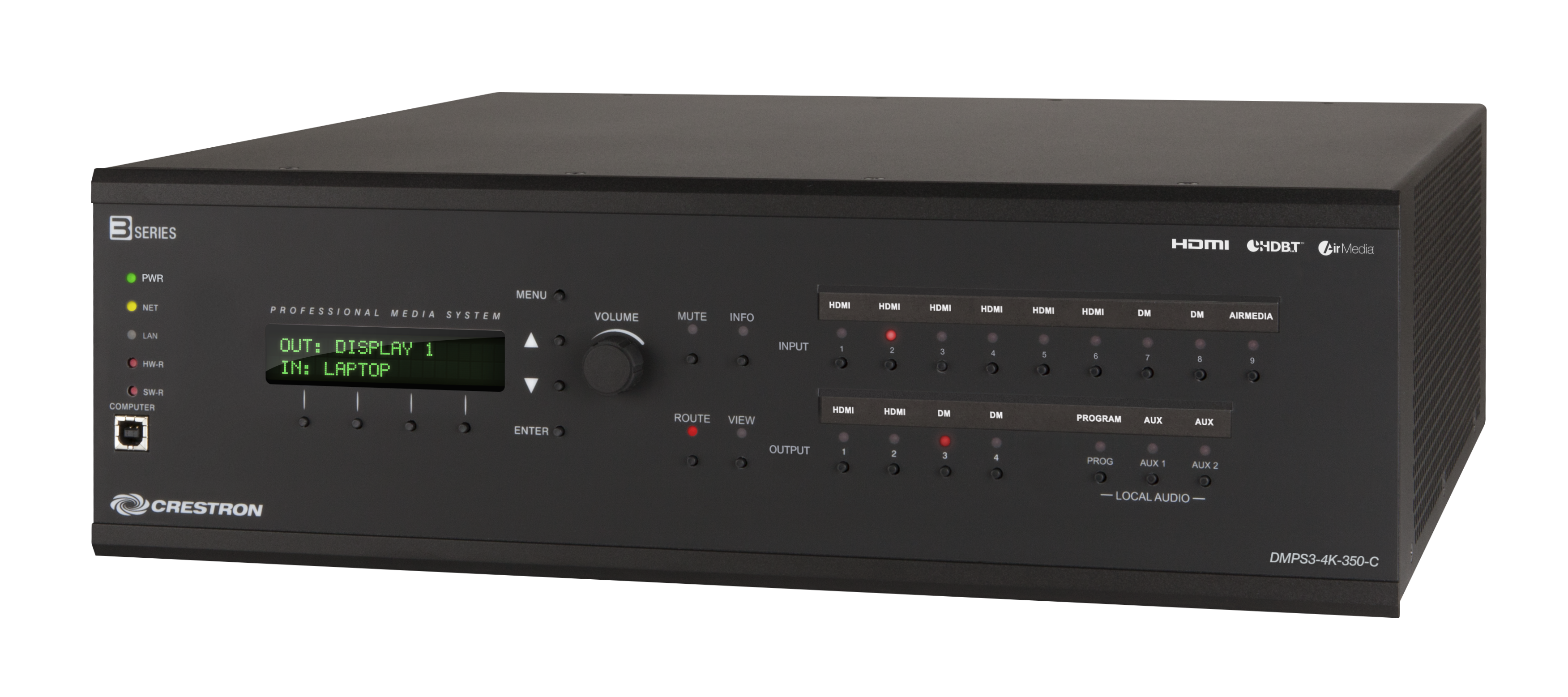 Crestron DMPS3-4K-350-C Digital Media System