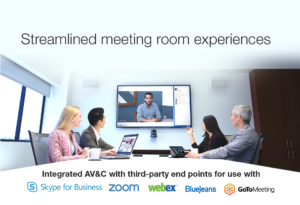QSC Audio Video Conference Room System