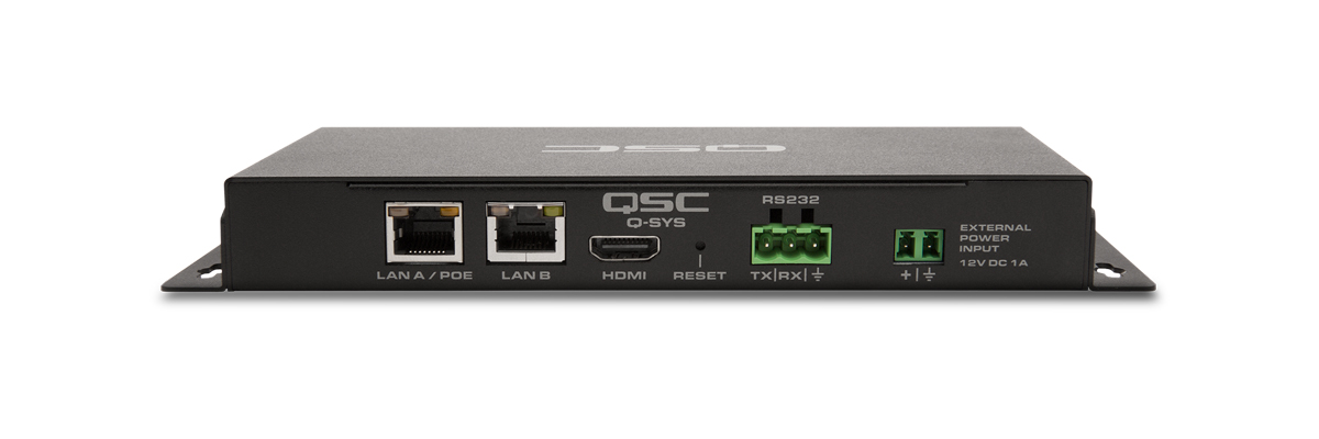 QSC Q-SYS I/O-USB Bridge