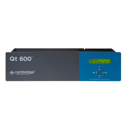 Cambridge QT 600 Six Zone Sound Masking Controller